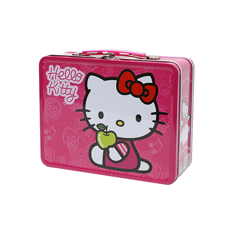 Wholesale Custom Printing Rectangle Tin Metal Box For Kids Toy YE96