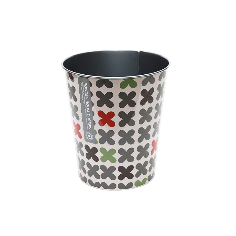 Hot Sale Metal Rubbish Bin For Indoor Use YE136